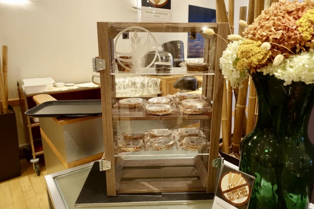 ヒルトンミラノ パシフィックミラノレストラン 朝食 グルテンフリー