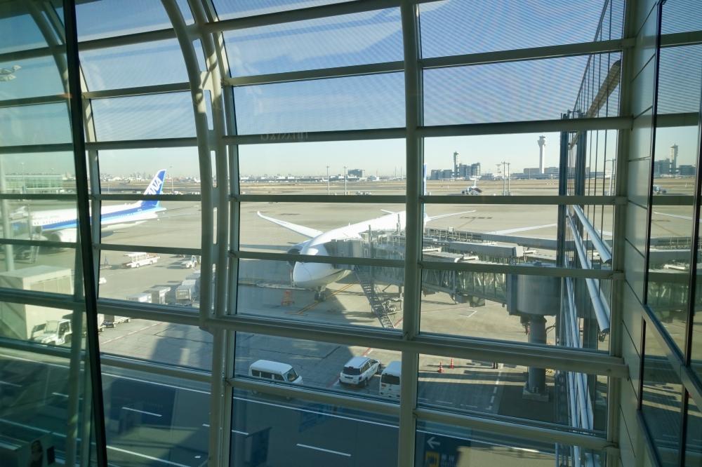 羽田空港国際線ターミナル 台北行き851便