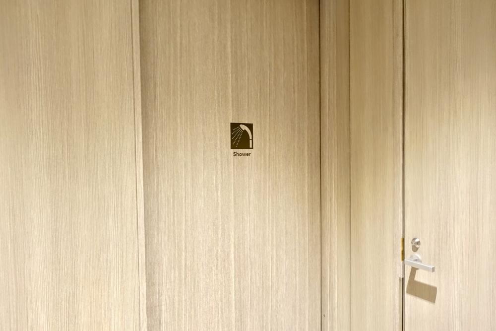 羽田空港国際線ターミナル JALファーストクラスラウンジ シャワー室