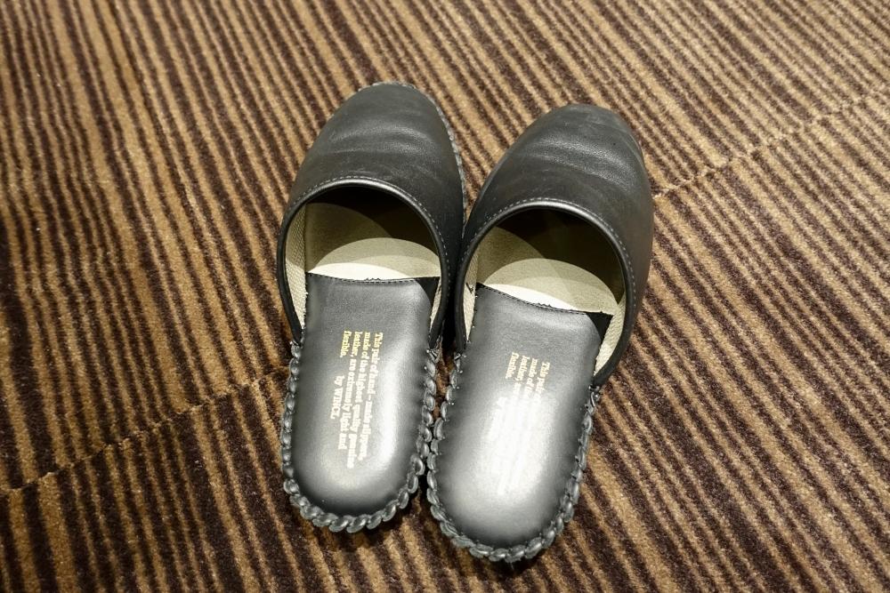 羽田空港国際線ターミナル JALファーストクラスラウンジ RED 靴磨きサービス