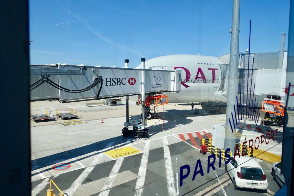 カタール航空39便は快適で豪華な素晴らしいフライトでした