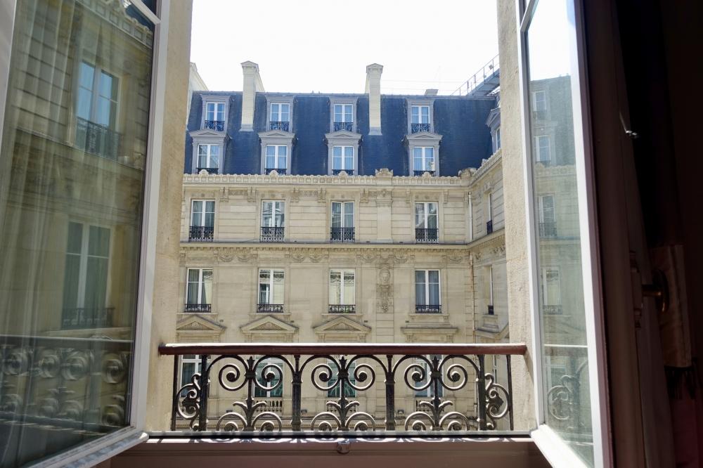 ザ・ウェスティンパリ窓からの眺め