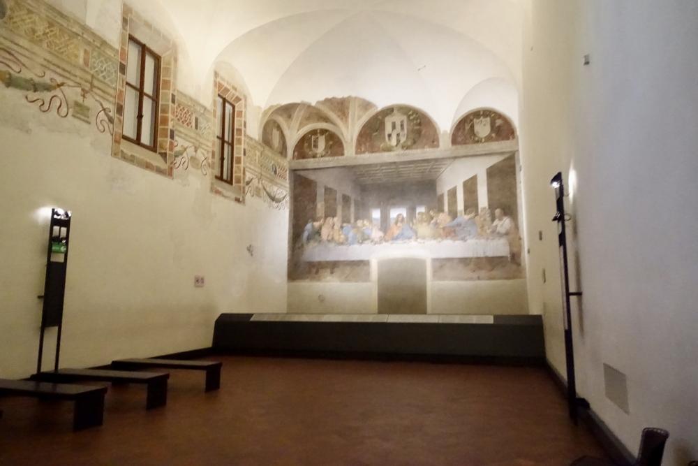 イタリア/ミラノサンタ・マリア・デッレ・グラツィエ教会最後の晩餐