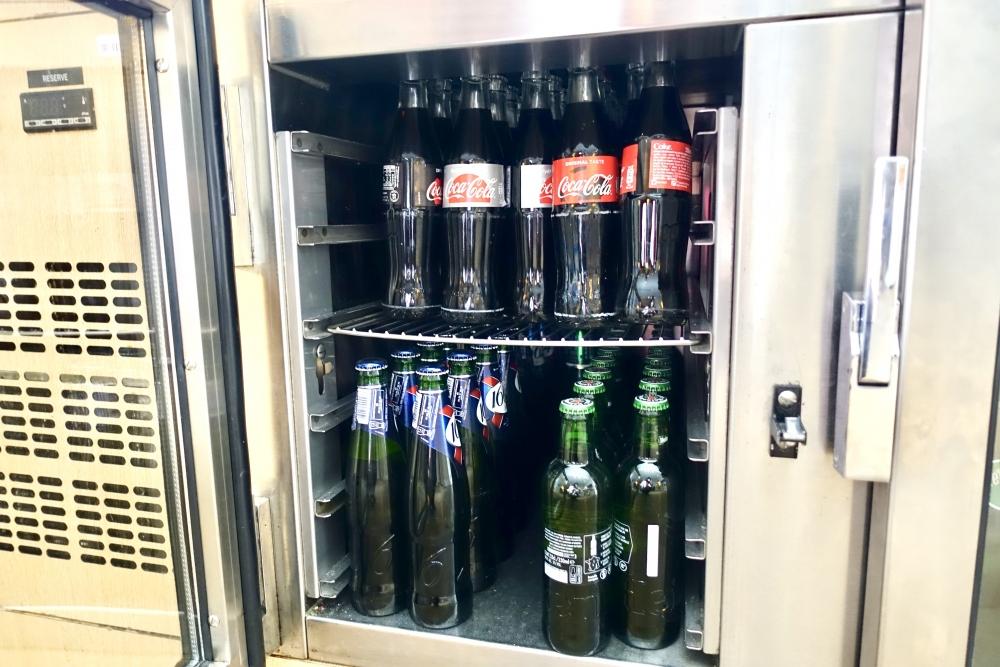 シェラトン・パリ・ロワシーエアポートクラブラウンジ冷蔵庫