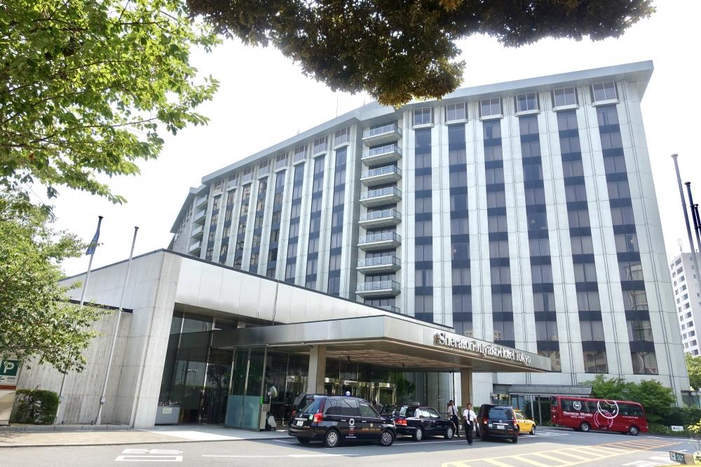シェラトン都ホテル東京外観
