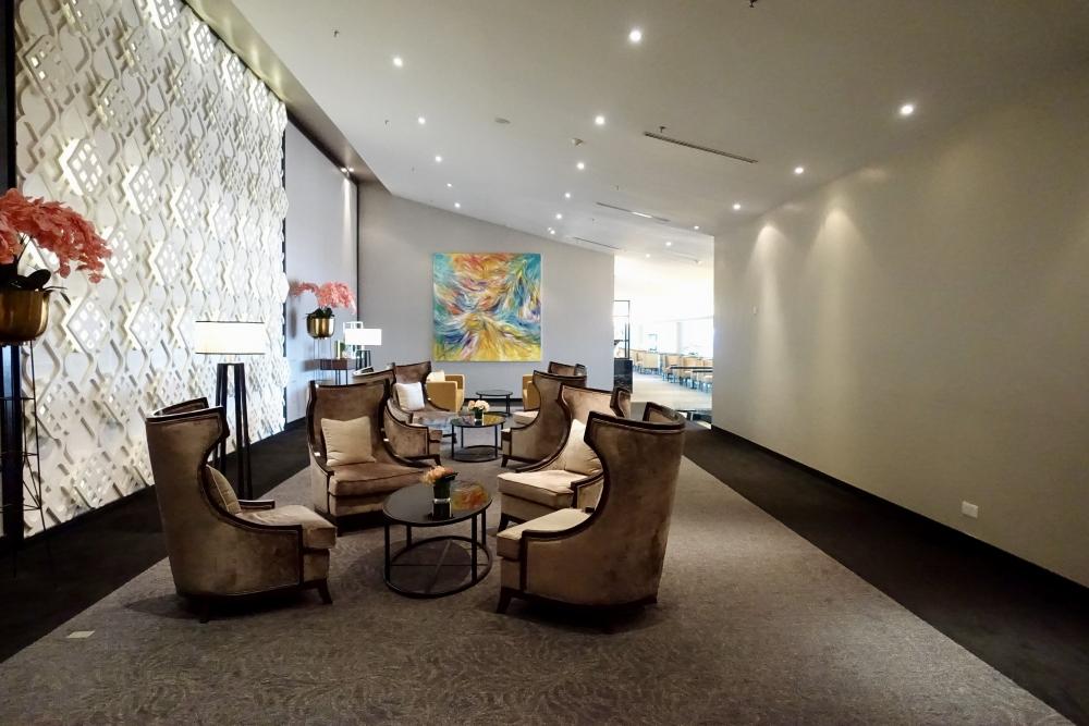 クアラルンプール国際空港マレーシア航空ゴールデンラウンジファーストクラスラウンジエリア