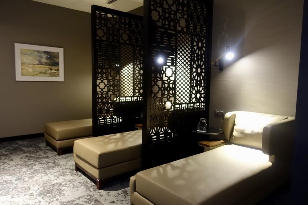 クアラルンプール国際空港マレーシア航空ゴールデンラウンジファーストクラス女性用仮眠室