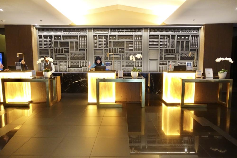 クアラルンプール国際空港マレーシア航空ゴールデンラウンジのエントランス