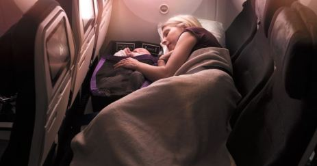 NZスカイカウチは添い寝も可能