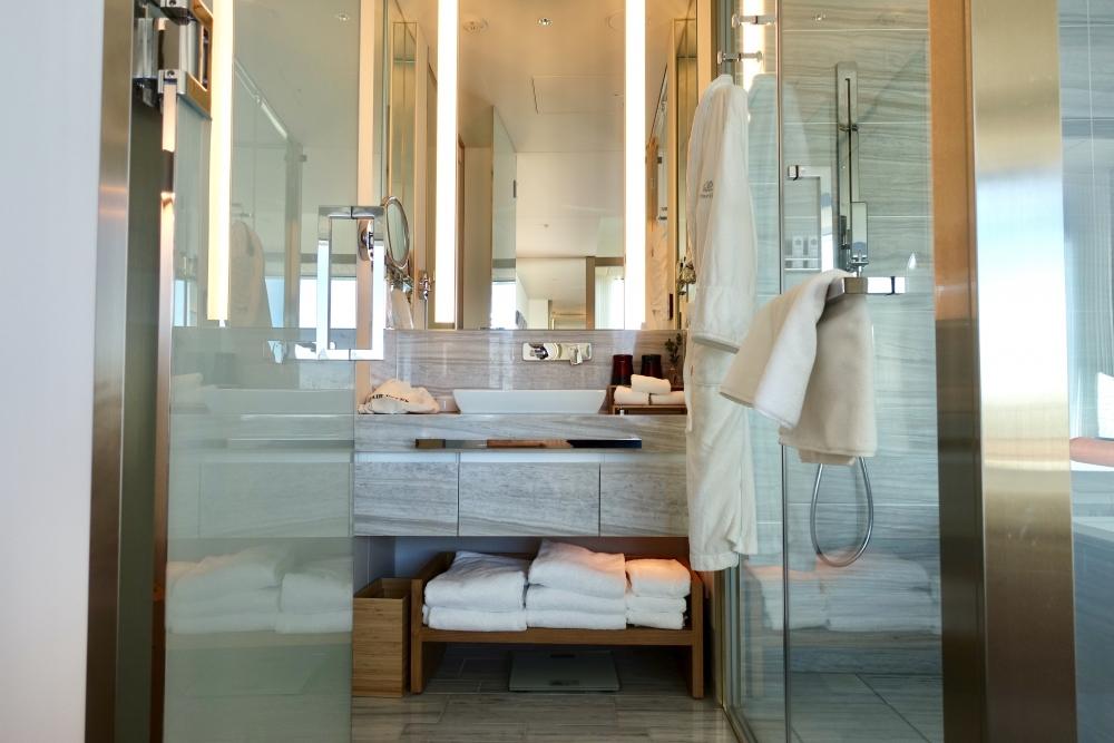 ザ・プリンスギャラリー紀尾井町デラックスキングバスルーム洗面台