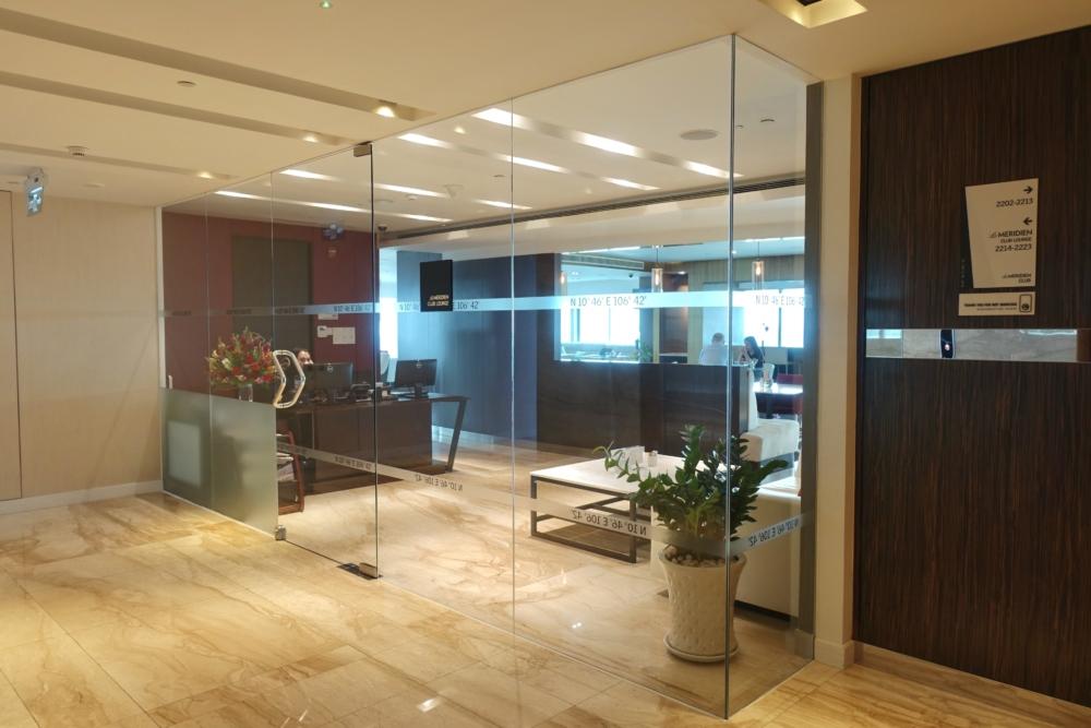 ルメリディアンサイゴン22階のクラブラウンジ