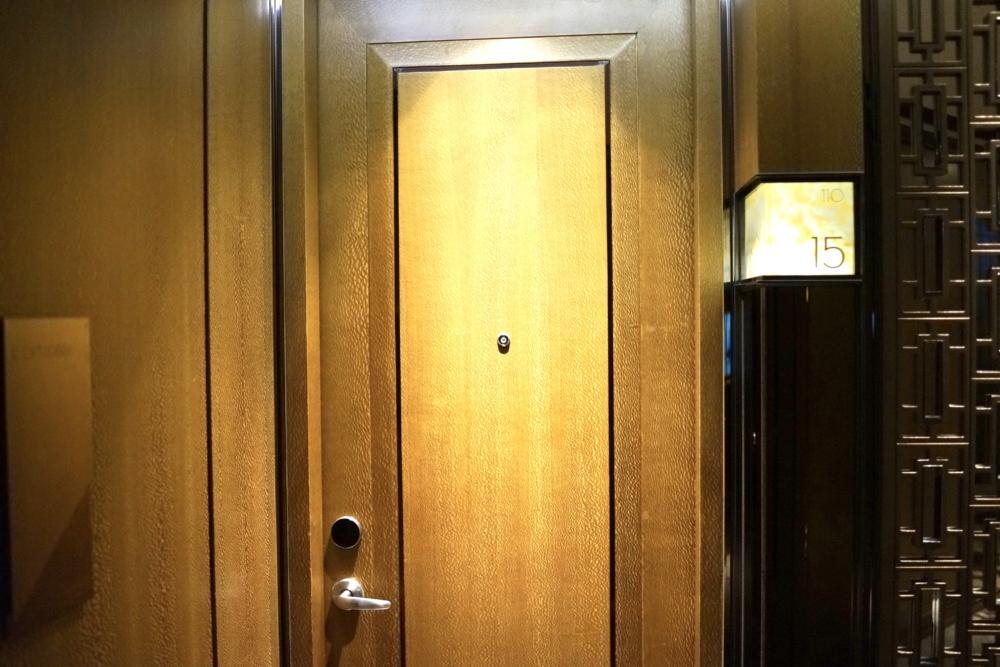リッツ・カールトン香港110階の内廊下