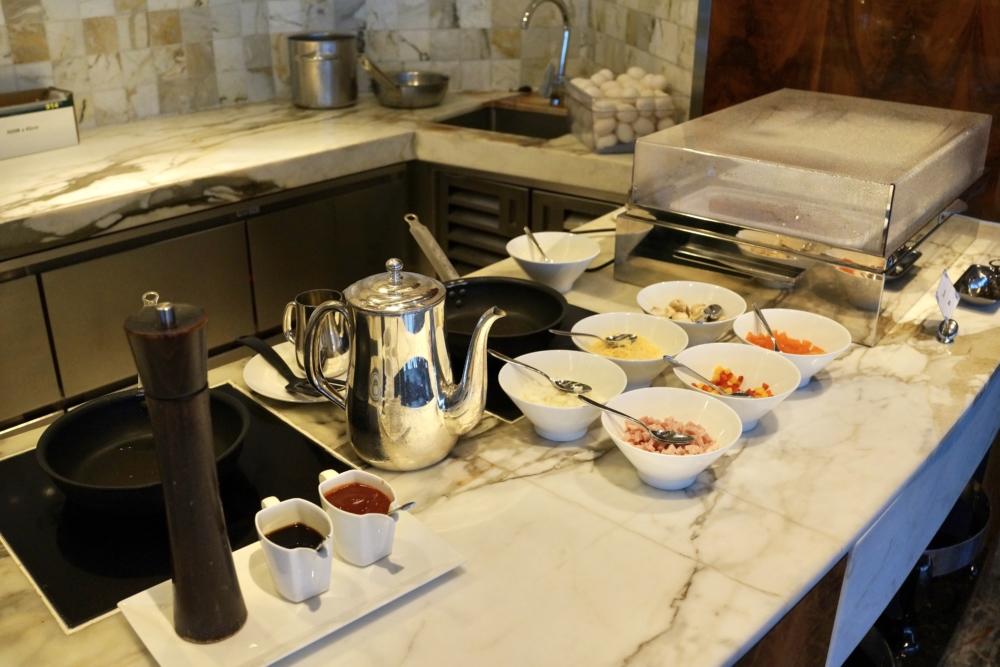 リッツ・カールトン香港クラブラウンジ朝食
