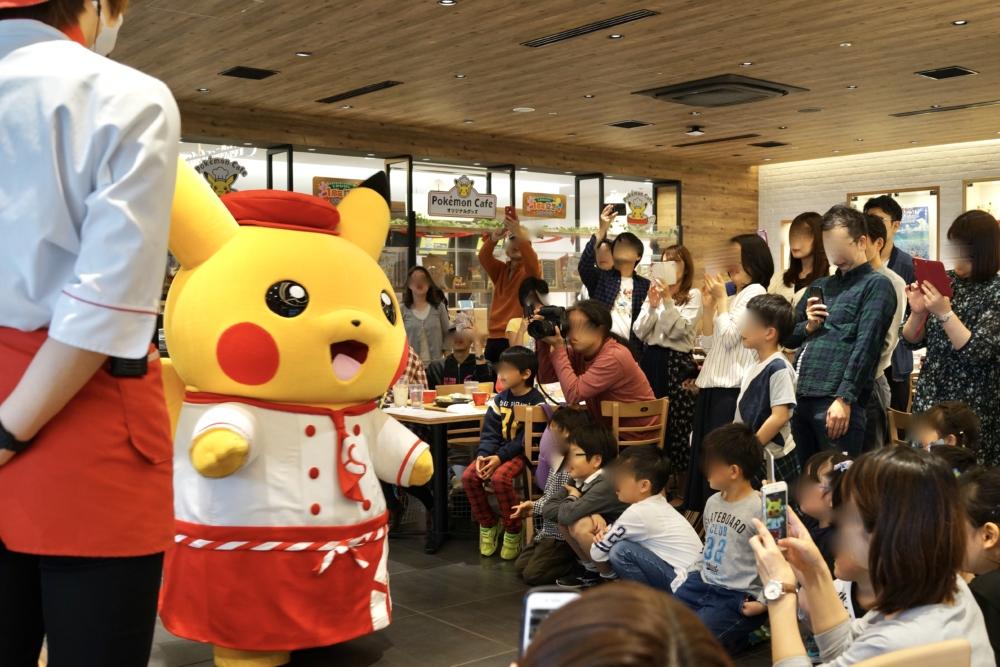 日本橋高島屋ポケモンカフェの店内マップ