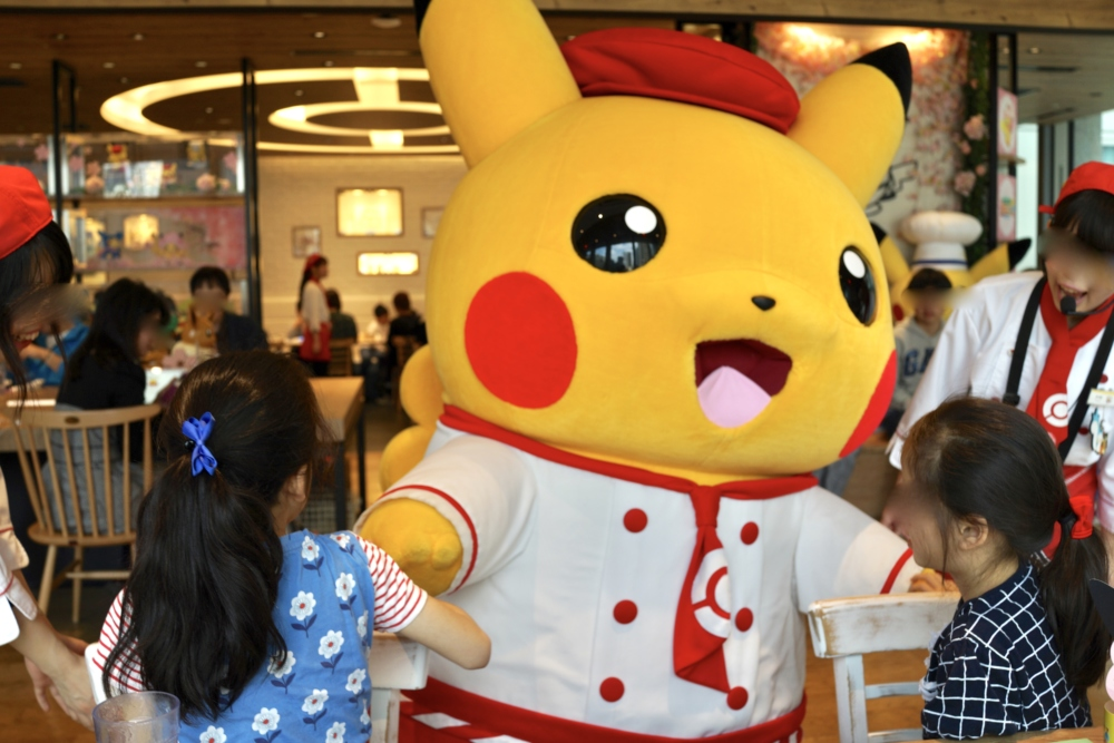 日本橋高島屋ポケモンカフェのポケモングリーティング