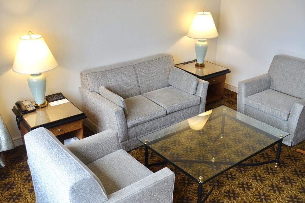 ウェスティンホテル大阪ジュニアスイート・リビングルーム