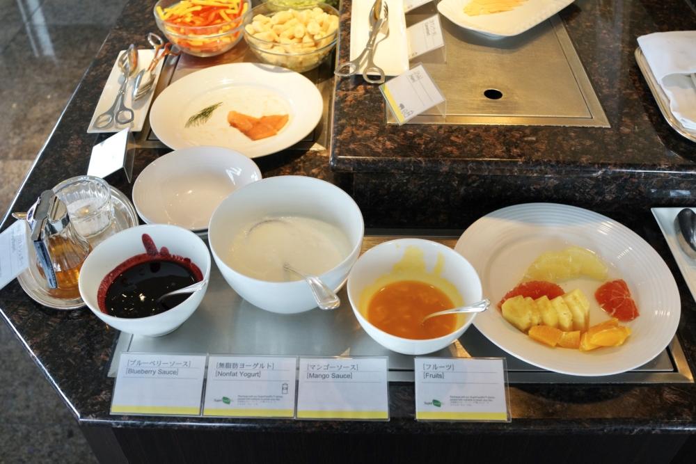 ウェスティン大阪エグゼクティブラウンジ朝食