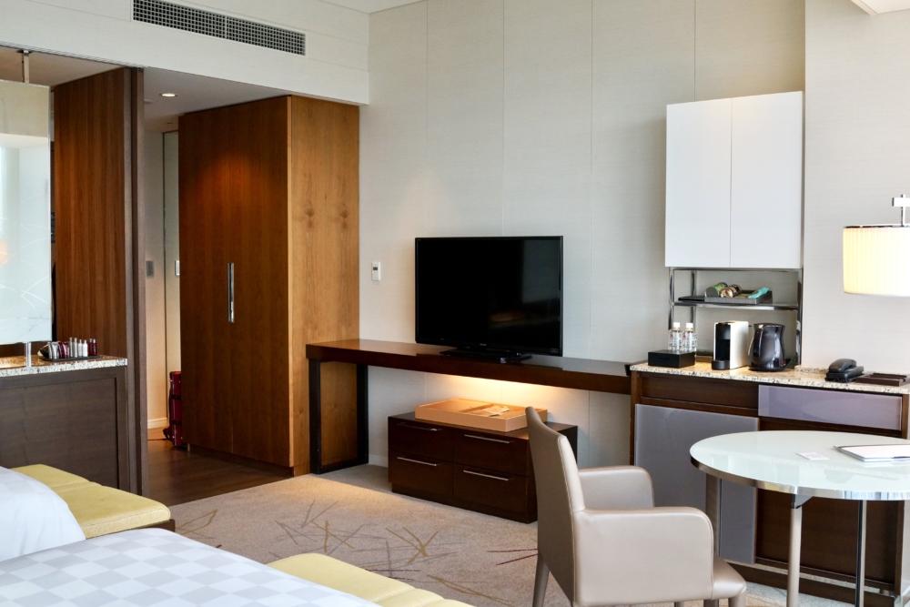 大阪マリオット都ホテル46階デラックスツイン