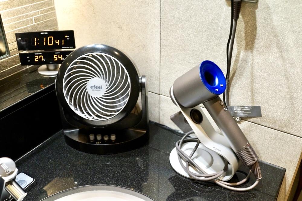 羽田空港国際線ターミナルANAラウンジシャワールーム・洗面台