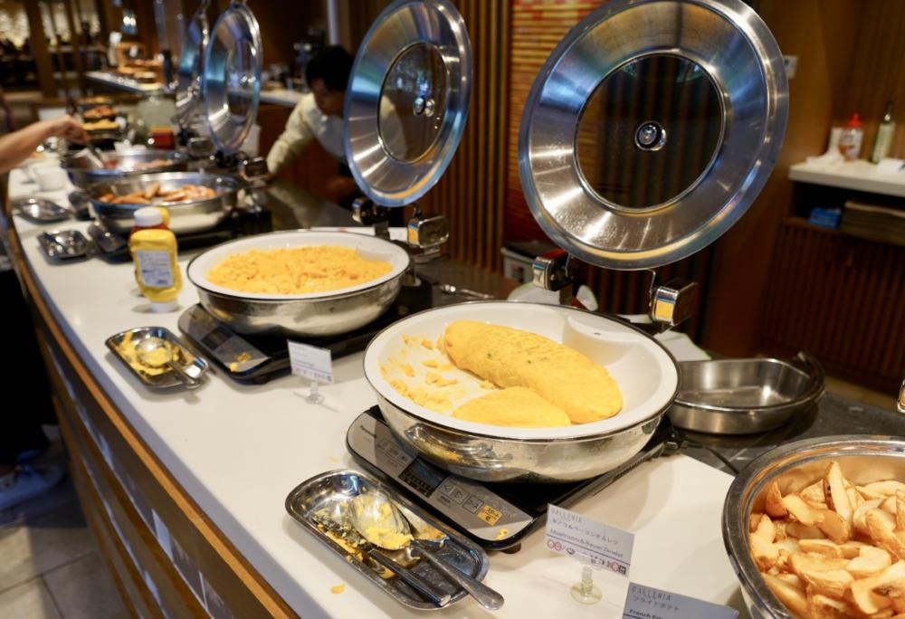 シェラトン・グランデ・トーキョーベイ・ホテル/ガレリアカフェの朝食メニュー/ホットミール