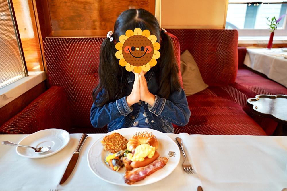 ホテルインペリアルウィーンでの朝食風景