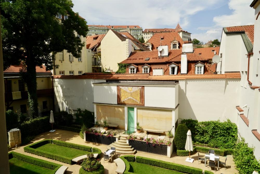 オーガスティンアラグジュアリーホテルプラハ・プレミアムデラックスルームからの眺め