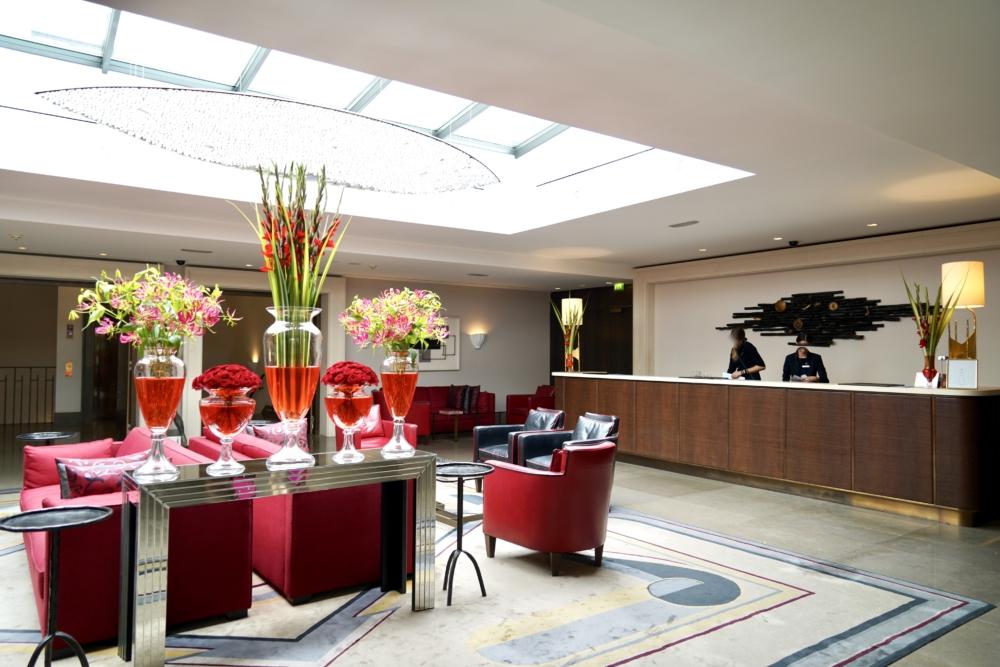 オーガスティン・ア・ラグジュアリーコレクションホテル・プラハのレセプション