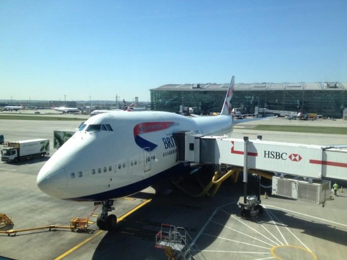 ロンドン・ヒースロー空港ターミナル5アライバルラウンジに行ってみよう