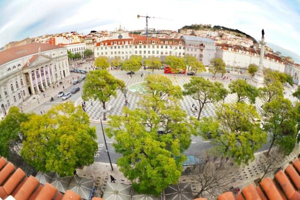 リスボン・マイストーリーホテルロッシオ・ダブルプレミアムルーム・お部屋からの眺め