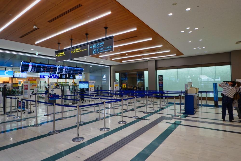 大阪伊丹空港南ターミナル出発口