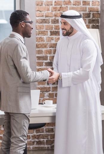 adult esl teacher meeting his student