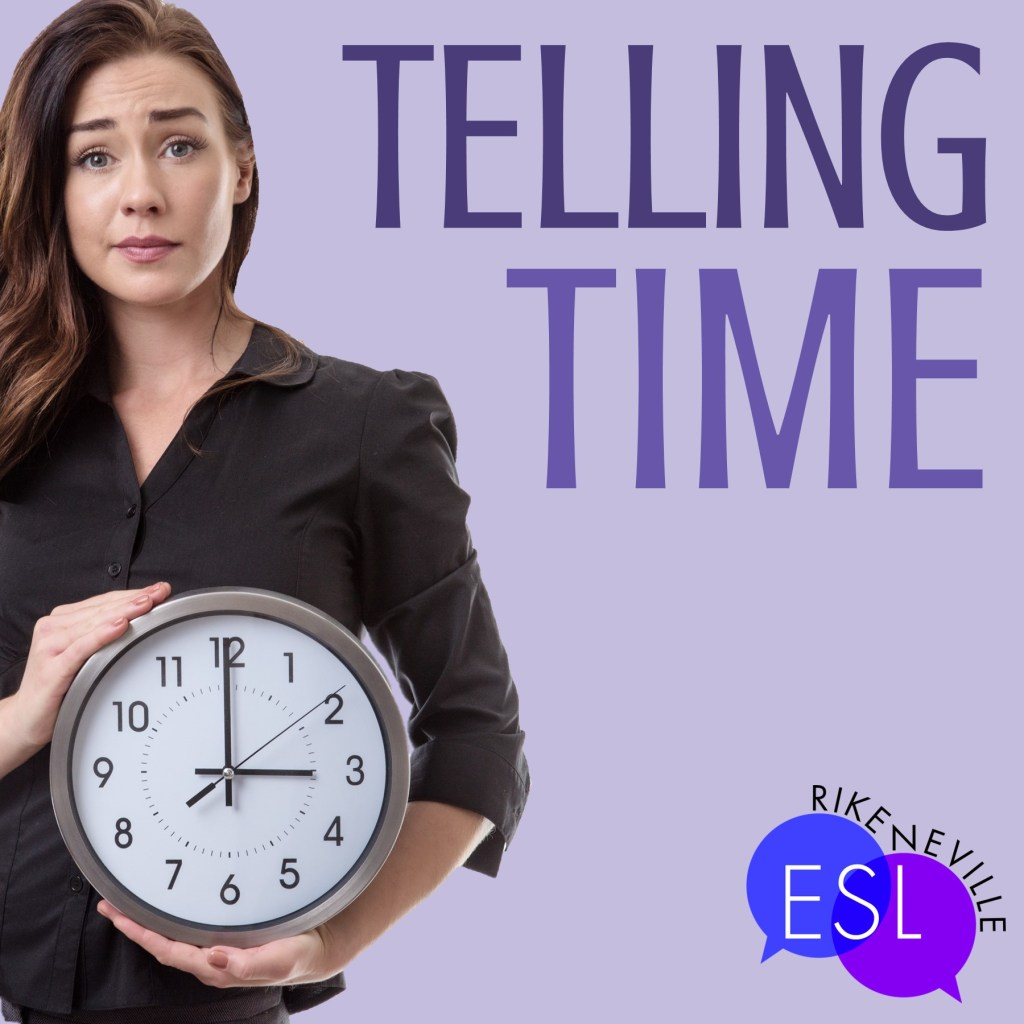 woman needs number vocabulary to talk about time