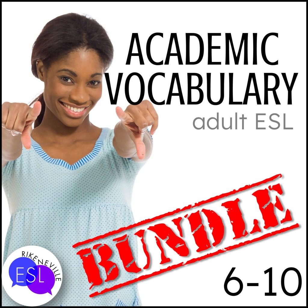 Teach academic vocabulary with bundle 2