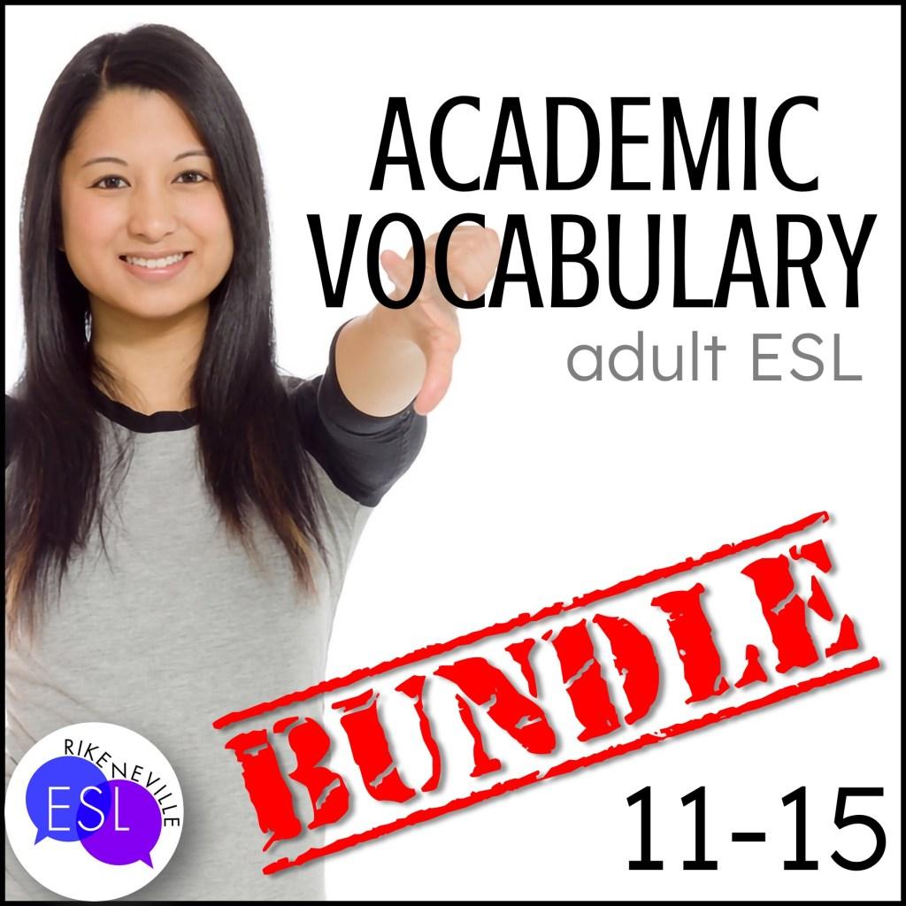Teach academic vocabulary with bundle 3