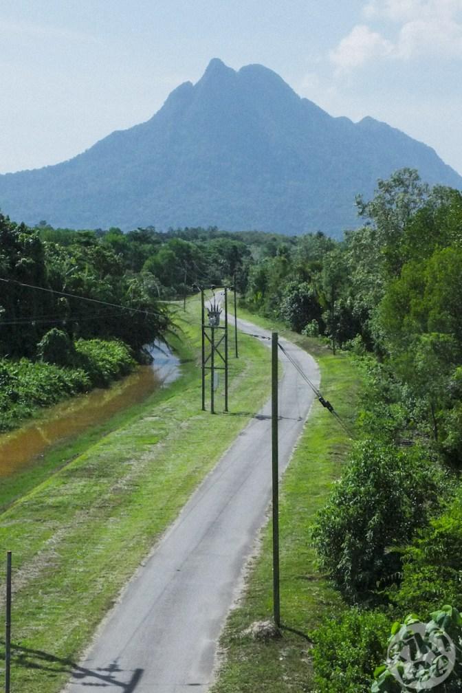 Fascinating scenic of Mount Santubong
