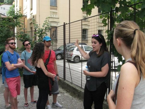 Guidet tur i Sarajevo