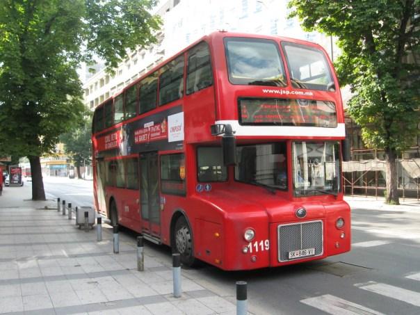 Bus Skopje