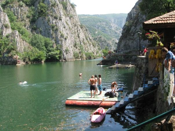 Lake Matka Skopje