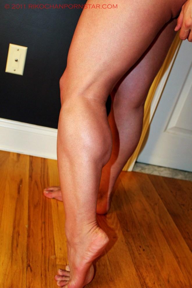 Rikochan calf muscle progress