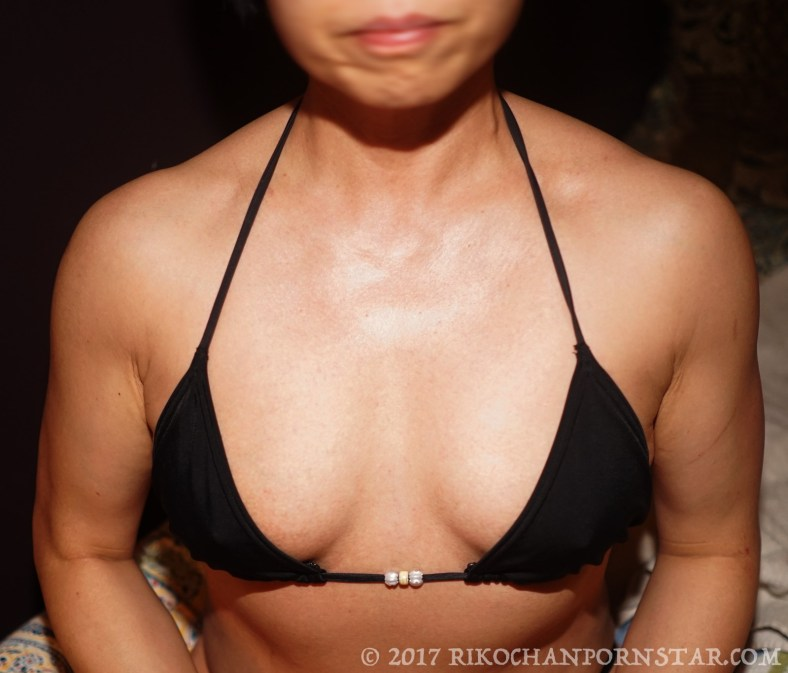 FBB chest in bikini