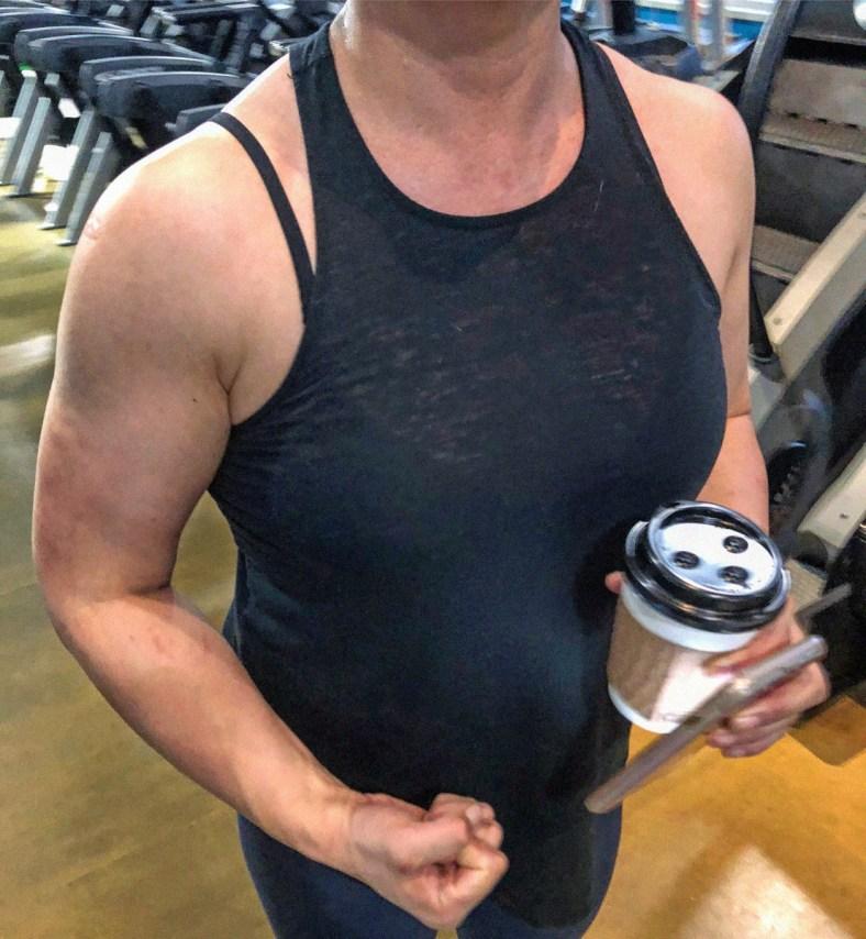 Rikochan's Big Muscles