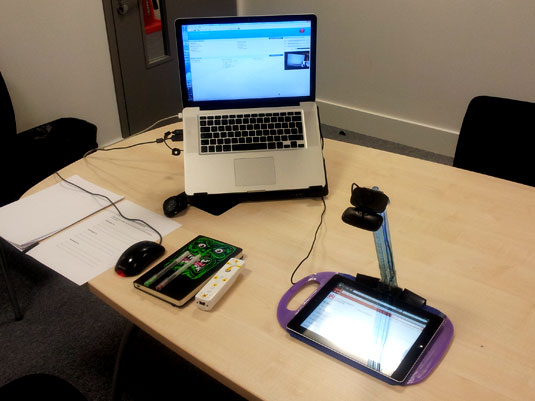 Mobile Device Testing Rig