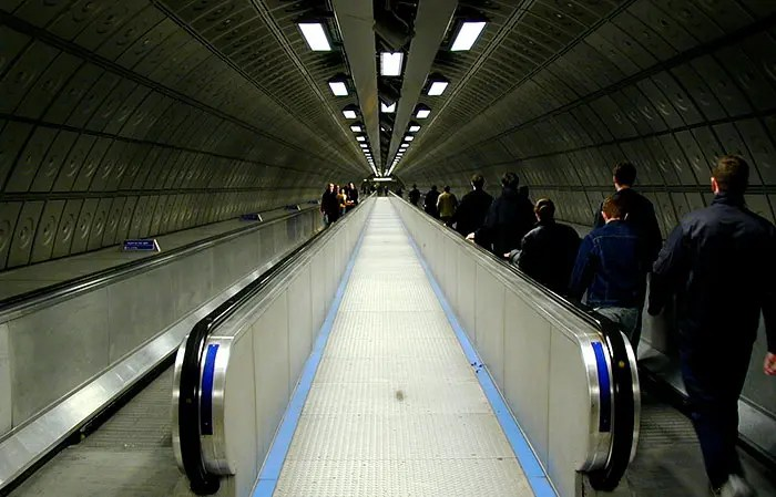Travelator London Underground