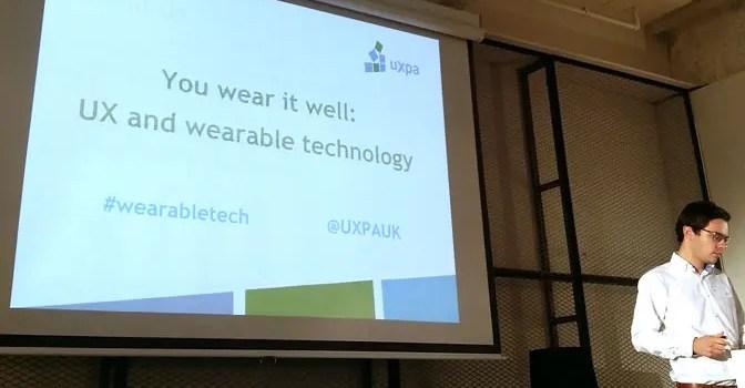 UXPA UK title slide