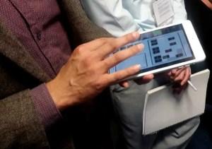 iPad Mini controlling the lab