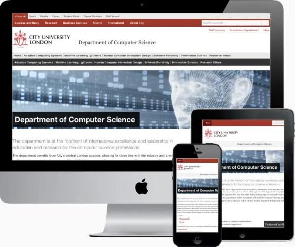 Academic Unit content format
