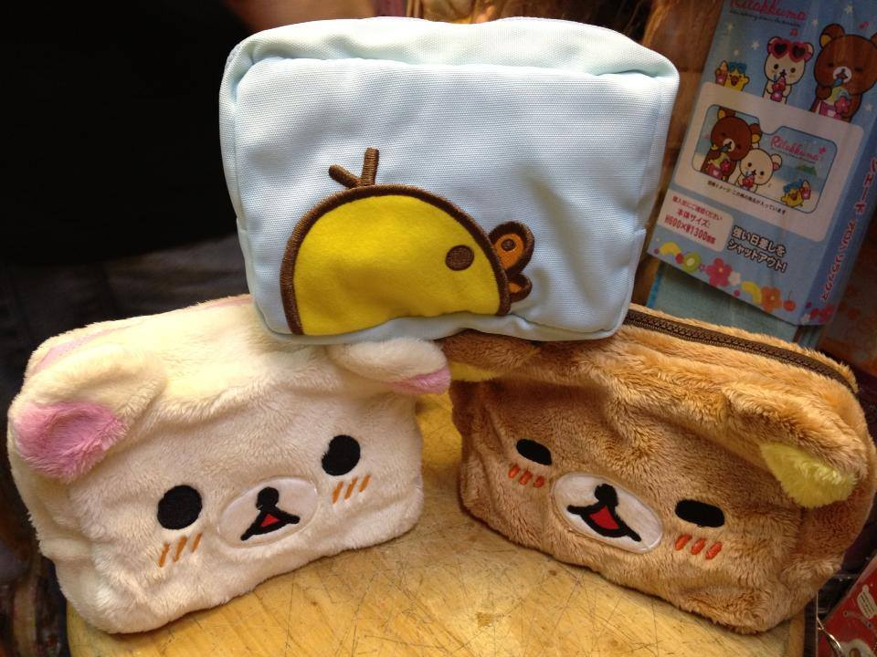 鬆弛熊專門店限定-雙面化妝袋(3款)
