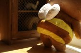Rilakkuma Honey Bee Plush Toy back