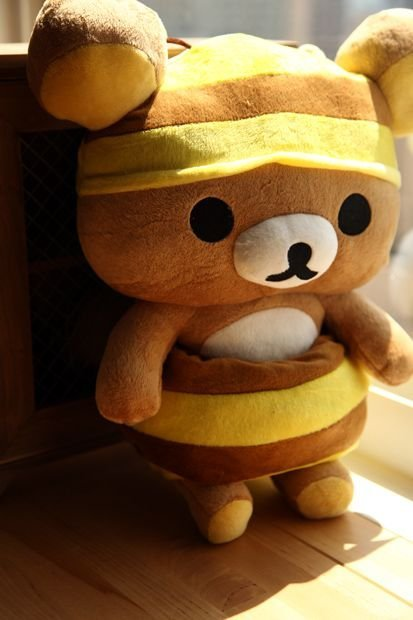 Rilakkuma Honey Bee Plush Toy