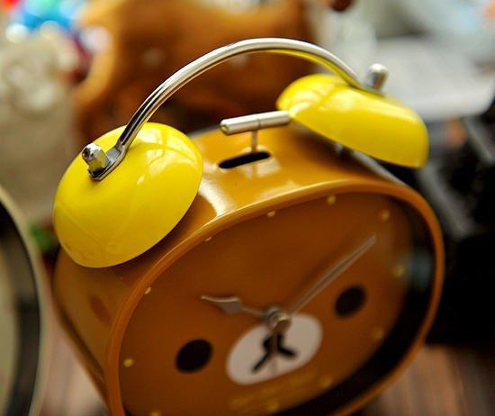 rilakkuma alarm clock